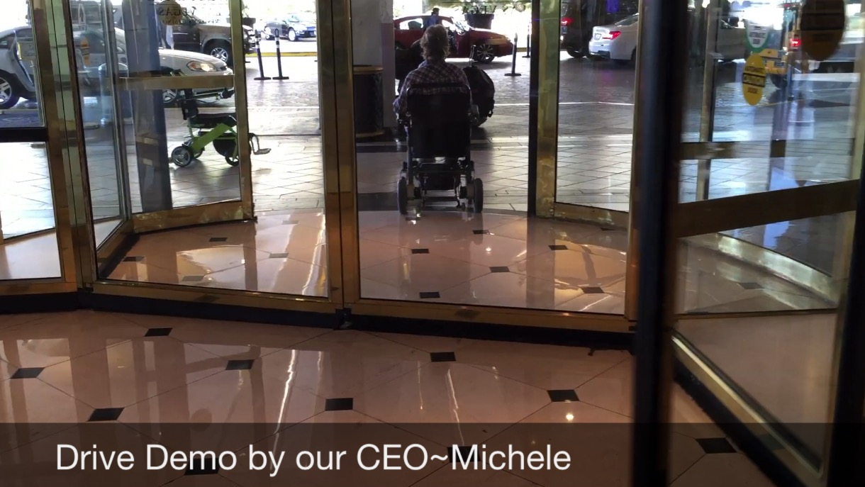 Electric Wheelchairs Revolving Doors