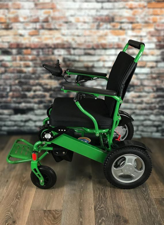 WeatherPROOF Electric Wheelchair | FOLD & GO Electric Wheelchairs®