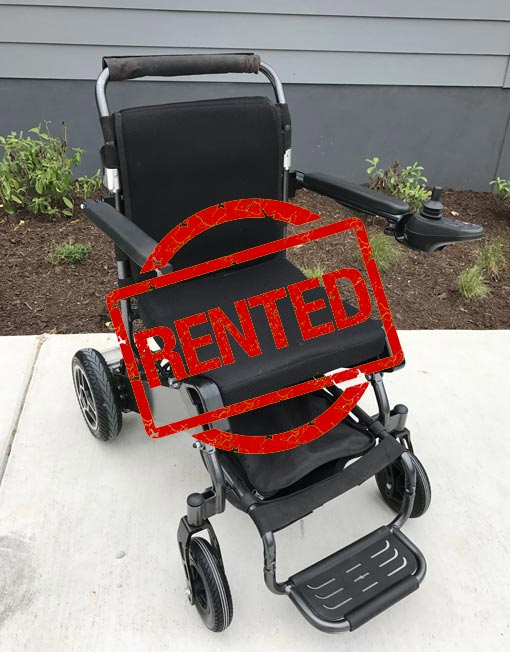 Rent Folding Electric Wheelchair Month To Month Cancel Anytime