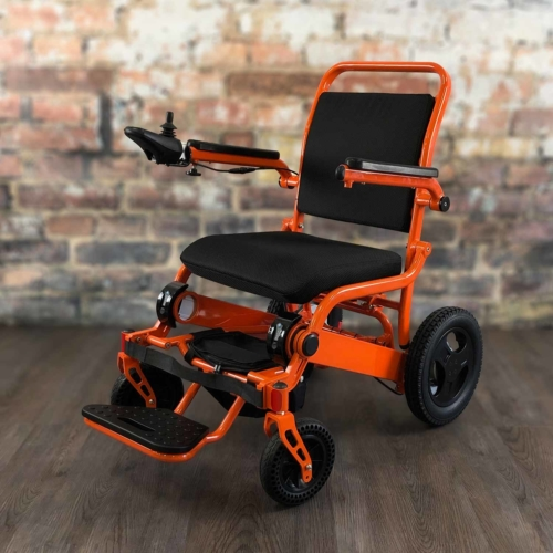 WeatherPROOF Electric Wheelchair | FOLD & GO Electric